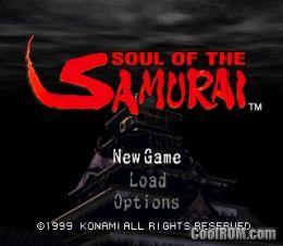 ¿lince  jugabas? Soul of Samurai  Ps1