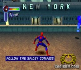 Spider-Man ROM (ISO) Download for Sony Playstation / PSX - CoolROM com