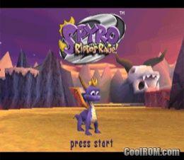Spyro 2 - Ripto's Rage ROM (ISO) Download for Sony