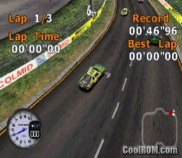 Stock Car Racer (Europe) ROM (ISO) Download for Sony Playstation