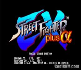 Street Fighter EX Plus Alpha ROM (ISO) Download for Sony Playstation