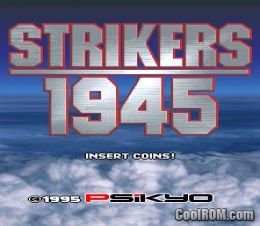 Strikers 1945 ROM (ISO) Download for Sony Playstation / PSX