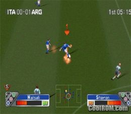 Super Shot Soccer ROM (ISO) Download for Sony Playstation