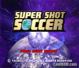 Super Shot Soccer ROM (ISO) Download for Sony Playstation / PSX