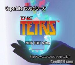 SuperLite 1500 Series - The Tetris (Japan) ROM (ISO) Download for