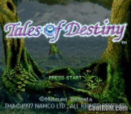 Tales of Destiny ROM (ISO) Download for Sony Playstation