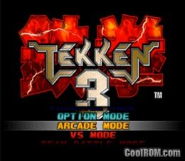Tekken 3 Rom Iso Download For Sony Playstation Psx
