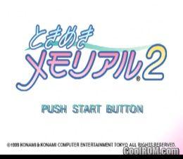Tokimeki Memorial 2 Japan Disc 4 Rom Iso Download For Sony