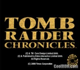 Tomb Raider Chronicles ROM (ISO) Download for Sony Playstation / PSX