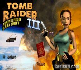 Tomb Raider 3 для Ps1 скачать торрент