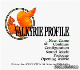 Valkyrie Profile 1 Psx Iso Emulator