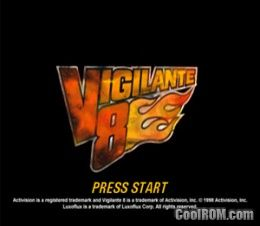 Vigilante 8 ROM (ISO) Download for Sony Playstation / PSX - CoolROM com