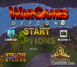 WarGames - Defcon 1 ROM (ISO) Download for Sony Playstation