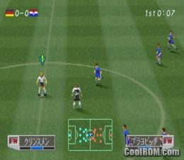 World Soccer Jikkyou Winning Eleven 3 - Final Ver  (Japan) ROM (ISO