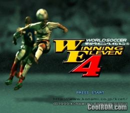 World Soccer Winning Eleven 2002 (Japan) ROM (ISO) Download for Sony