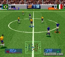 super shot soccer psx rom télécharger