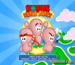 Worms World Party Rom Iso Download For Sony Playstation
