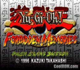 Yugioh forbidden memories 2 psx