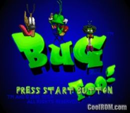 Bug Too! ROM (ISO) Download for Sega Saturn - CoolROM com
