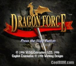 Dragon Force Rom Iso Download For Sega Saturn Coolrom
