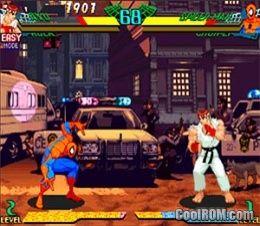 Marvel Super Heroes vs  Street Fighter ROM (ISO) Download