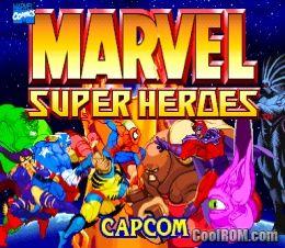 Marvel Super Heroes ROM (ISO) Download for Sega Saturn