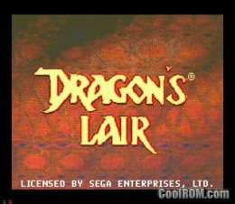Dragon's Lair ROM (ISO) Download for Sega CD - CoolROM com