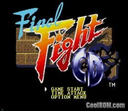 Final Fight CD ROM (ISO) Download for Sega CD - CoolROM com