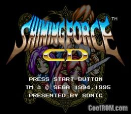 Shining Force CD ROM (ISO) Download for Sega CD - CoolROM com