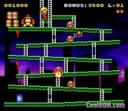 Classic Kong ROM Download for Super Nintendo / SNES - CoolROM com
