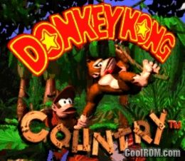 donkey kong country snes roms download