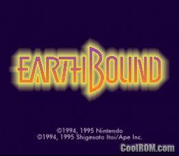 Earthbound ROM Download for Super Nintendo / SNES - CoolROM com