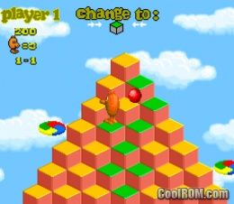 Q-bert 3 ROM Download for Super Nintendo / SNES - CoolROM.com
