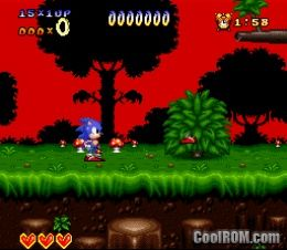 Sonic the Hedgehog ROM Download for Super Nintendo / SNES