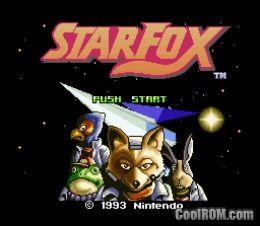 Star Fox ROM Download for Super Nintendo / SNES - CoolROM com