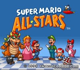 Super Mario All-Stars ROM Download for Super Nintendo / SNES