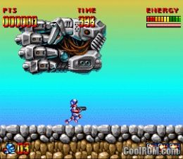 Super Turrican Rom Download For Super Nintendo Snes Coolrom Com