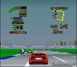 Top gear 2 rom download for super nintendo snes for Cool roms