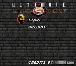 Ultimate Mortal Kombat 3 ROM Download for Super Nintendo
