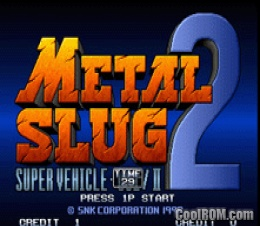 Metal Slug 2: Super Vehicle-001 / II -ROM Download