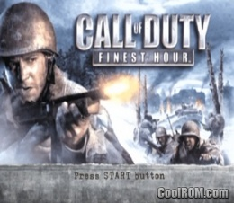 Call Of Duty Finest Hour Germany Rom Iso Download For Sony Playstation 2 Ps2 Coolrom Com